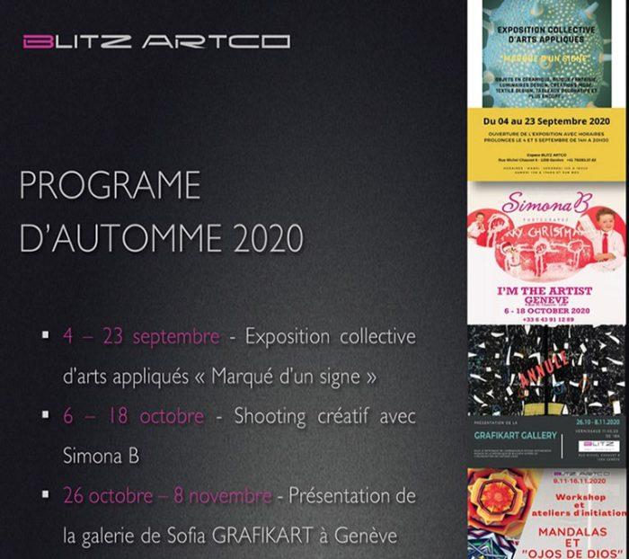 Découvrez notre programme d'automne 2020