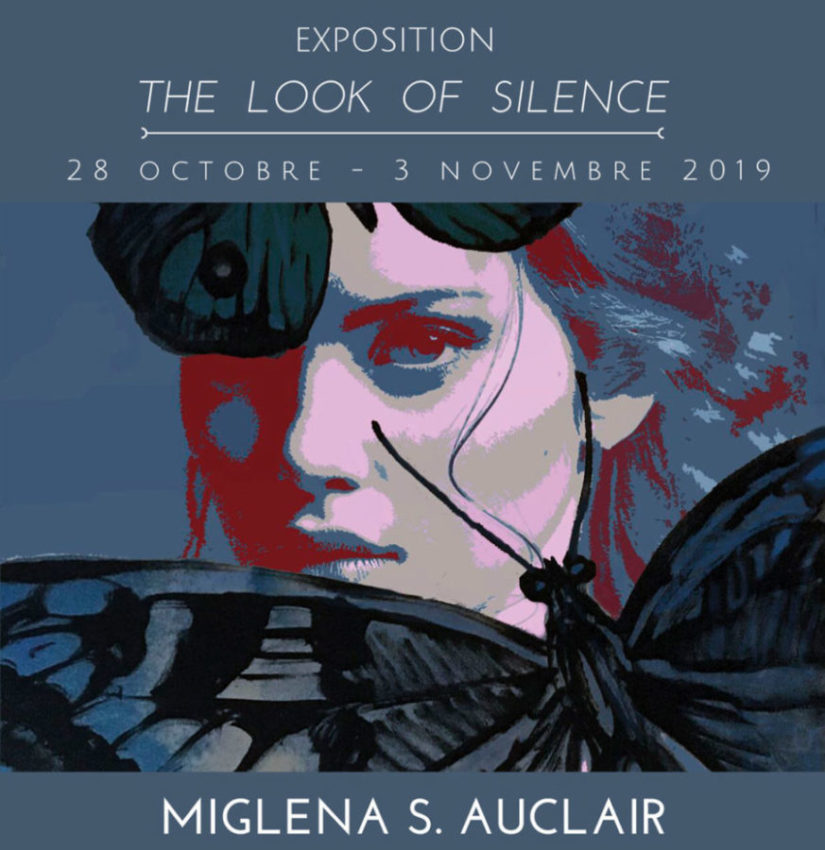 """Invitation d'exposition """"THE LOOK OF SILENCE"""" - 2019"""