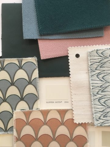 Création d'ambiance (couleurs et matériaux)