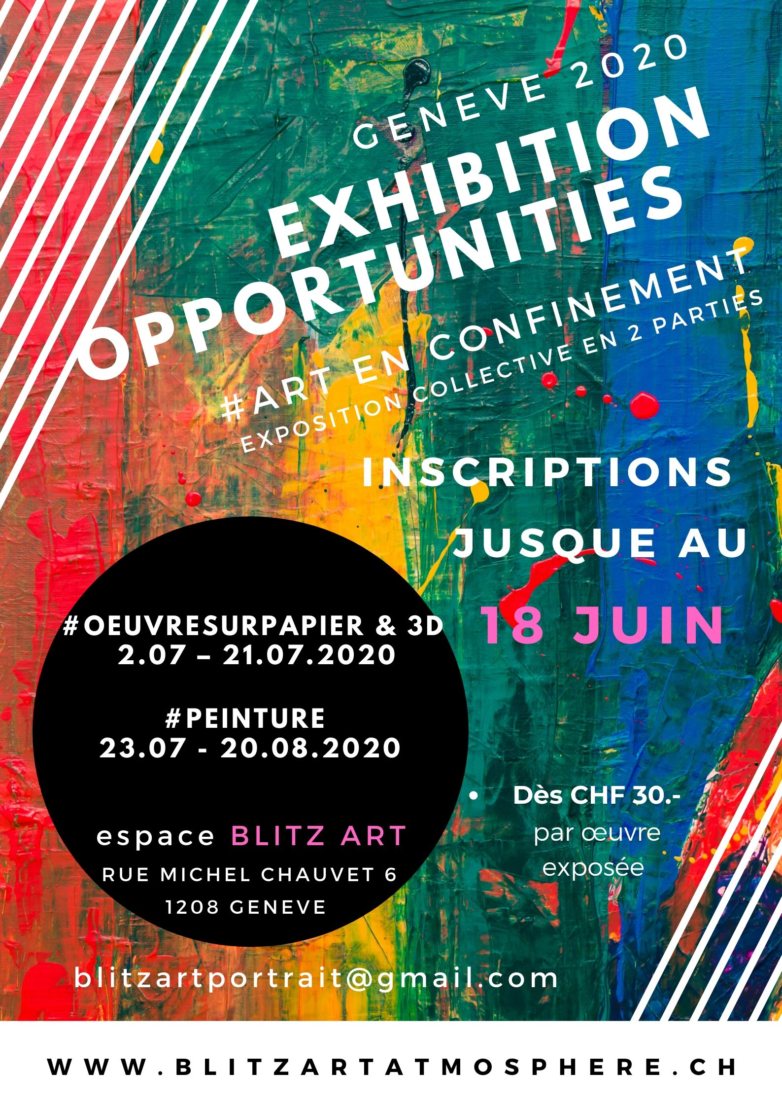 EXHIBITION OPPORTUNITIES - GENEVE 2020