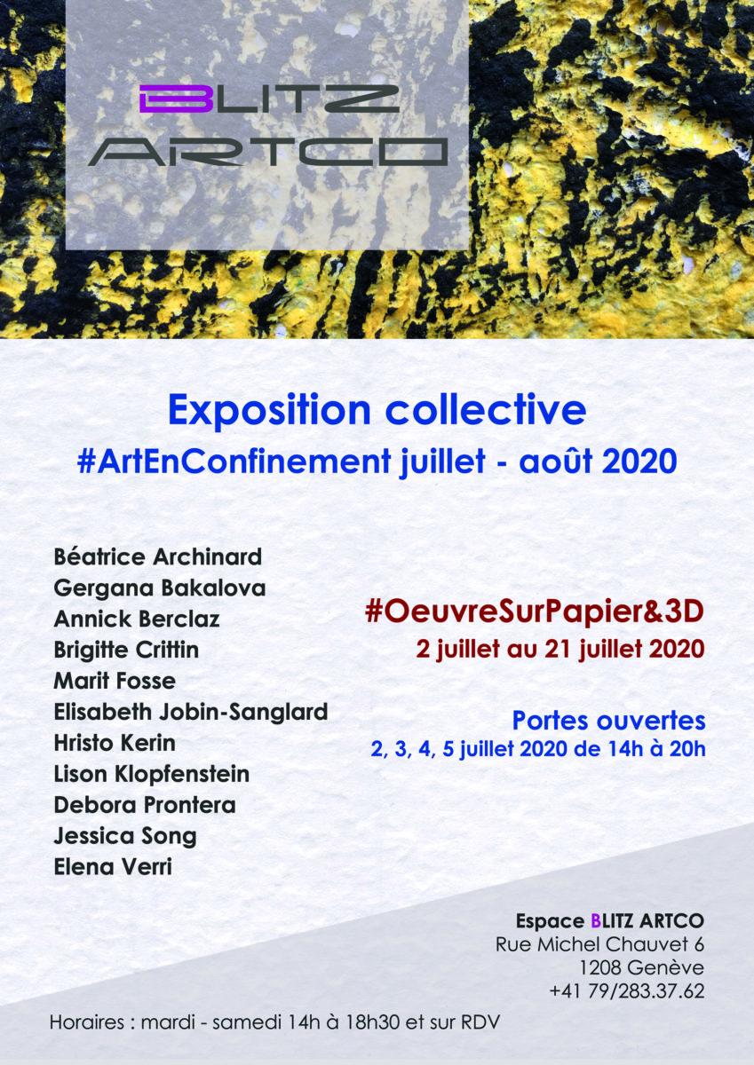Exposition collective OeuvreSurPapier&3D
