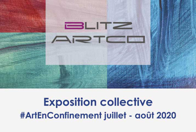 """Invitation d'exposition ArtEnConfinement """"Peinture"""""""