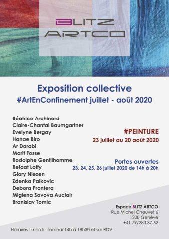 Exposition collective Peinture