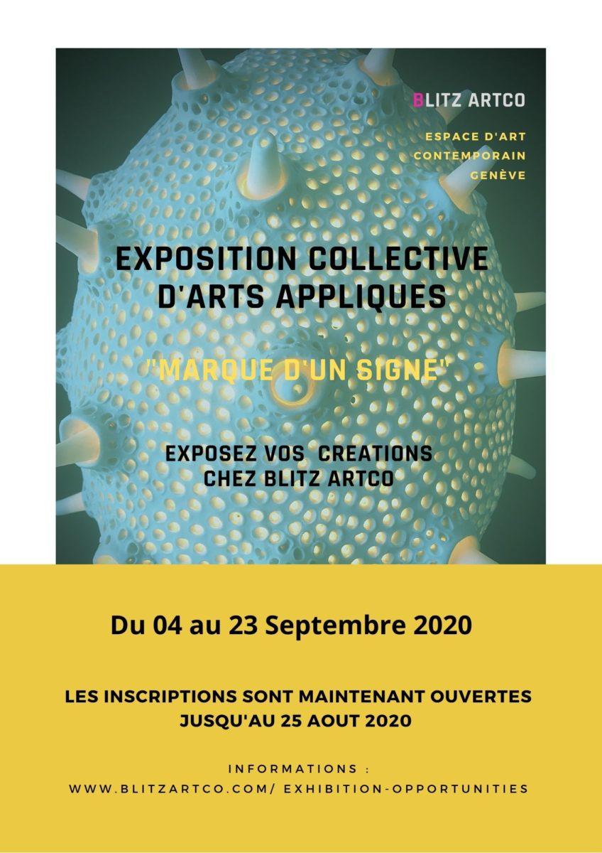 Appel au créateurs exposition collective Genève
