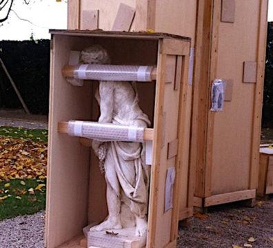 Pièces de grandes tailles de sculptures