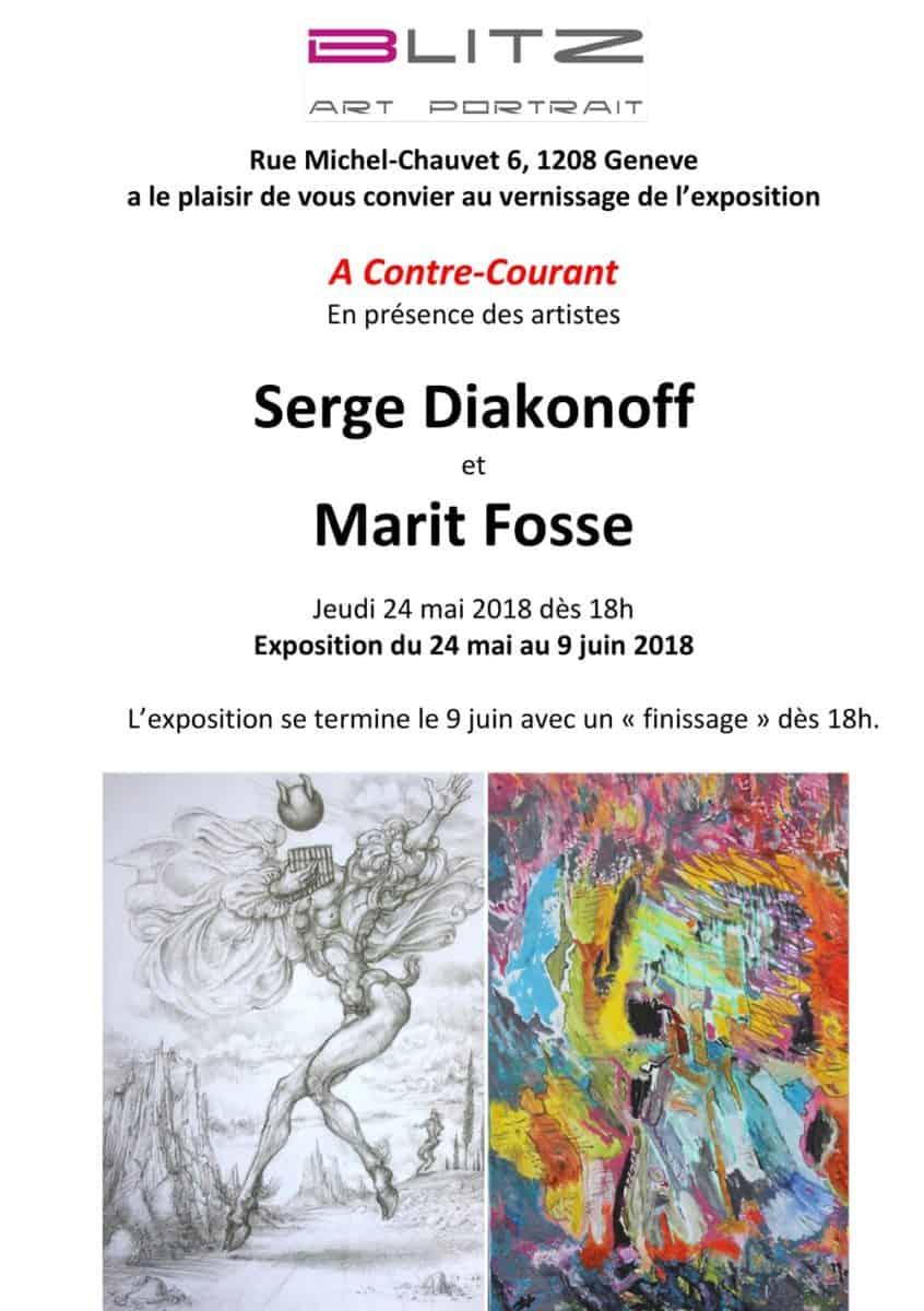 Serge Diakonoff et Marie Fosse