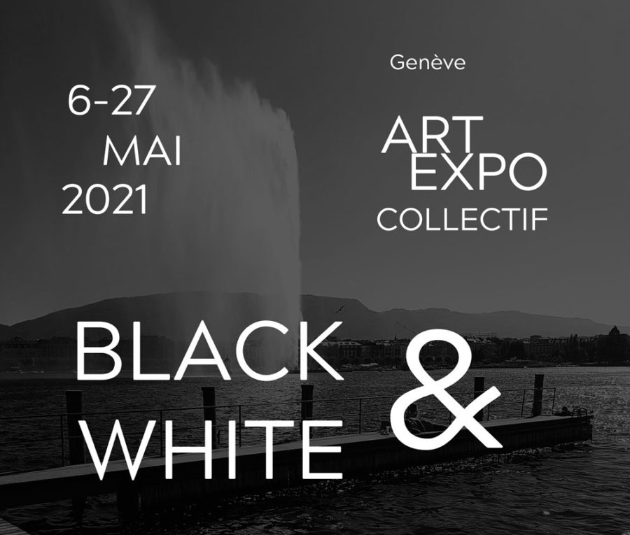 BLACK & WHITE / Exposition collective à Genève – 6-27 mai